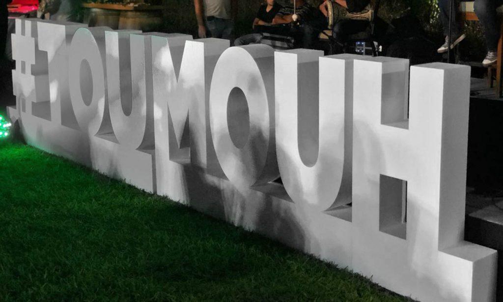toumouh logo on grass