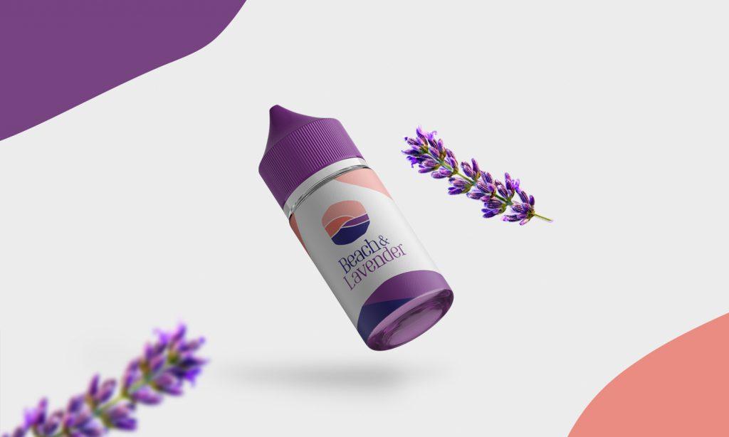 beach lavender design