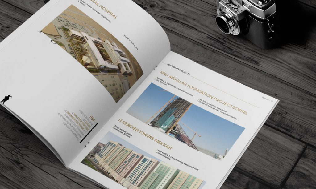 construction catalog branding - brader & partners