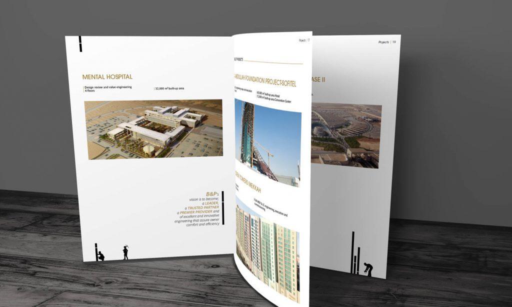 brader & partners - mental hospital brochure design