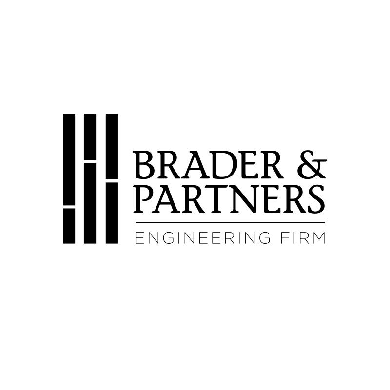 B&P engineering firm logo