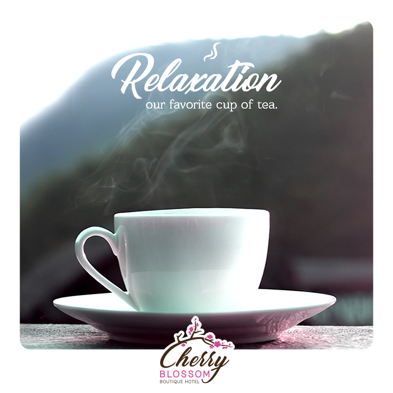 cherry blossom hotel - relaxation