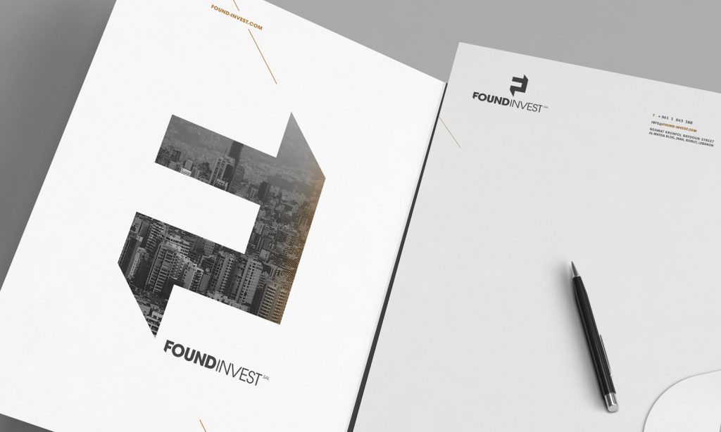 FOUNDINVEST-catalogue and brochures design