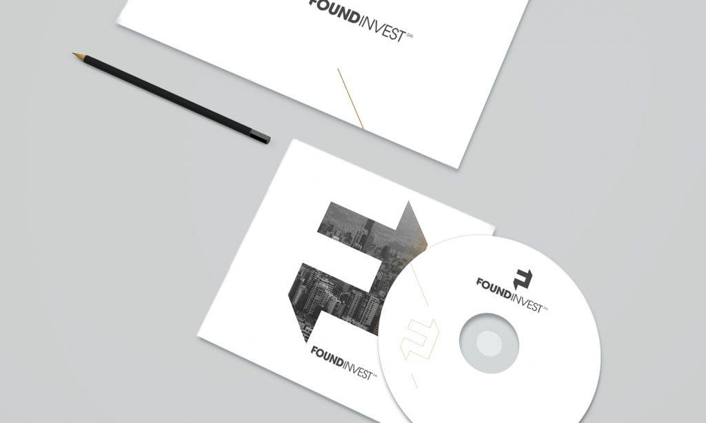 FOUNDINVEST - cd design