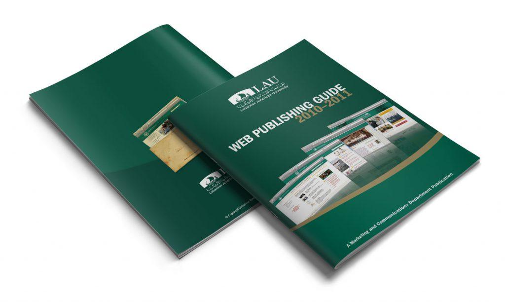 LAU - brochure design for university