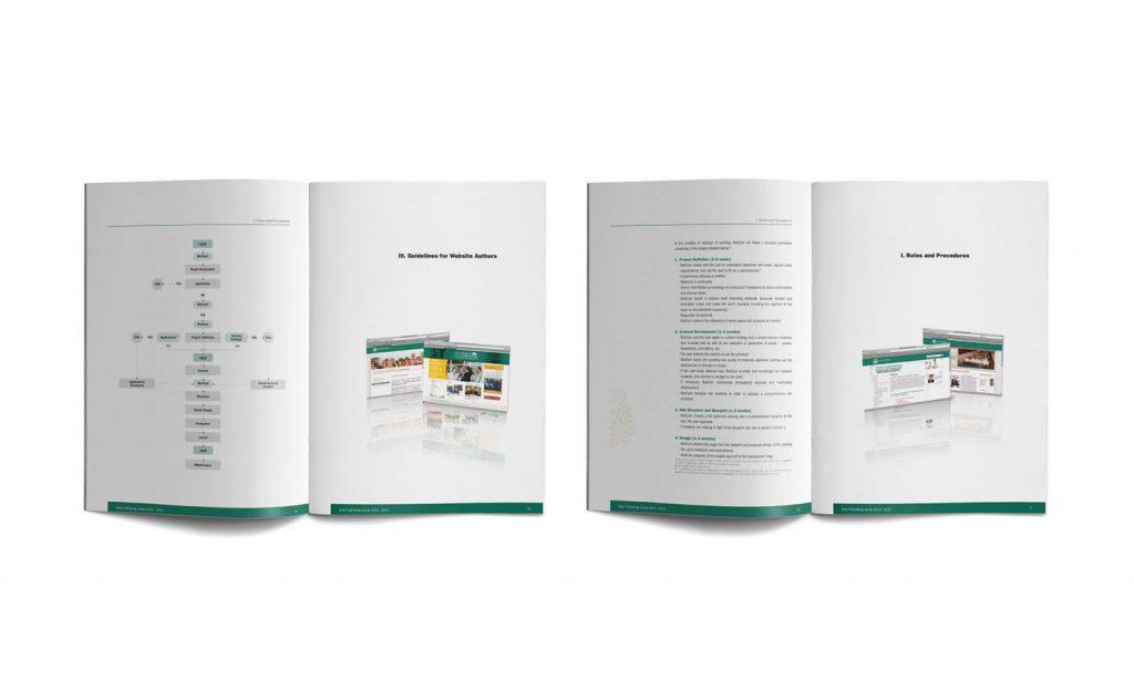 LAU - brochure design and catalog branding