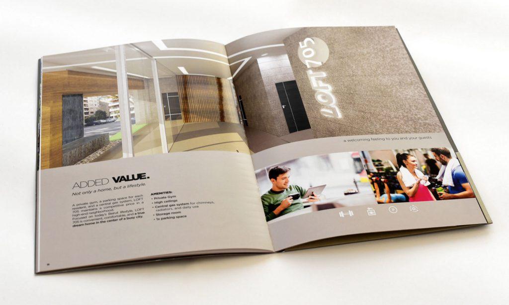loft 705 magazine design