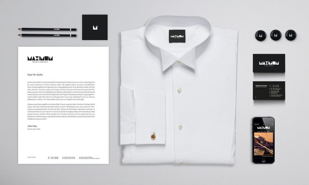 MAXIMUM - paper, t-shirtand other accessories all designed by Notaclinic