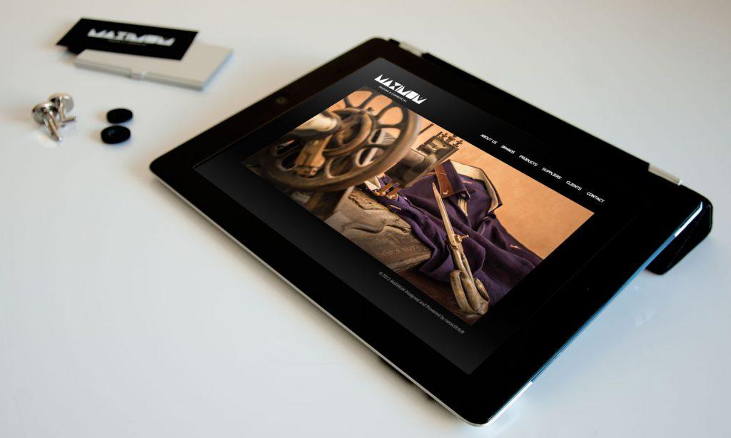 maximum website on tablet
