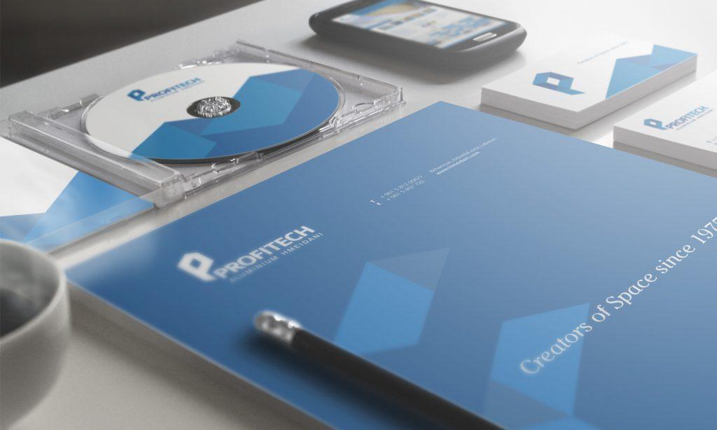 PROFITECH - brochure, Cd, business card, branding