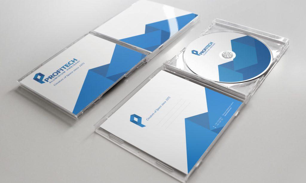 PROFITECH - full branding for CDs and brochures