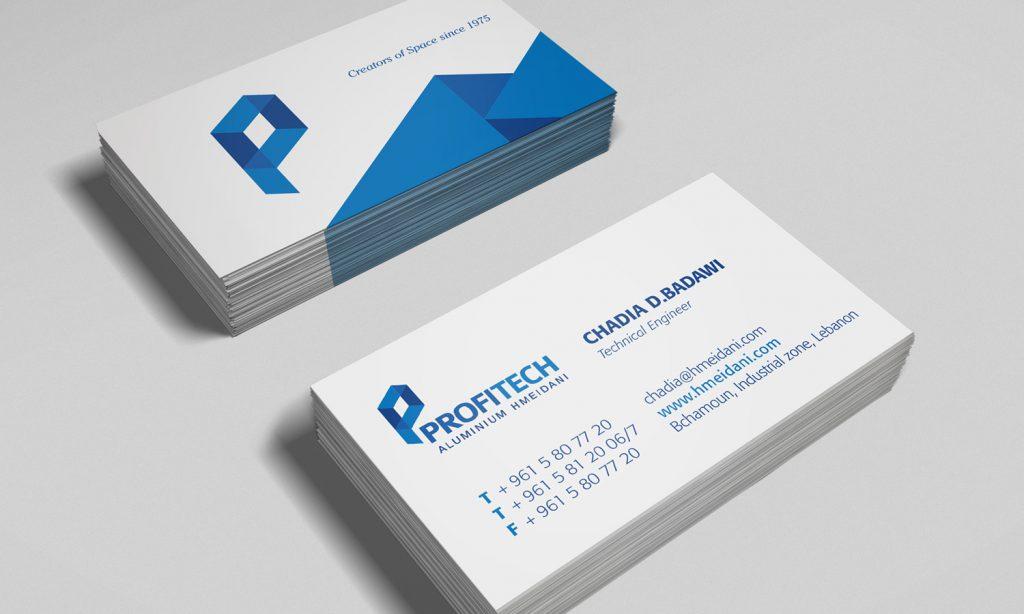PROFITECH - business card design and branding