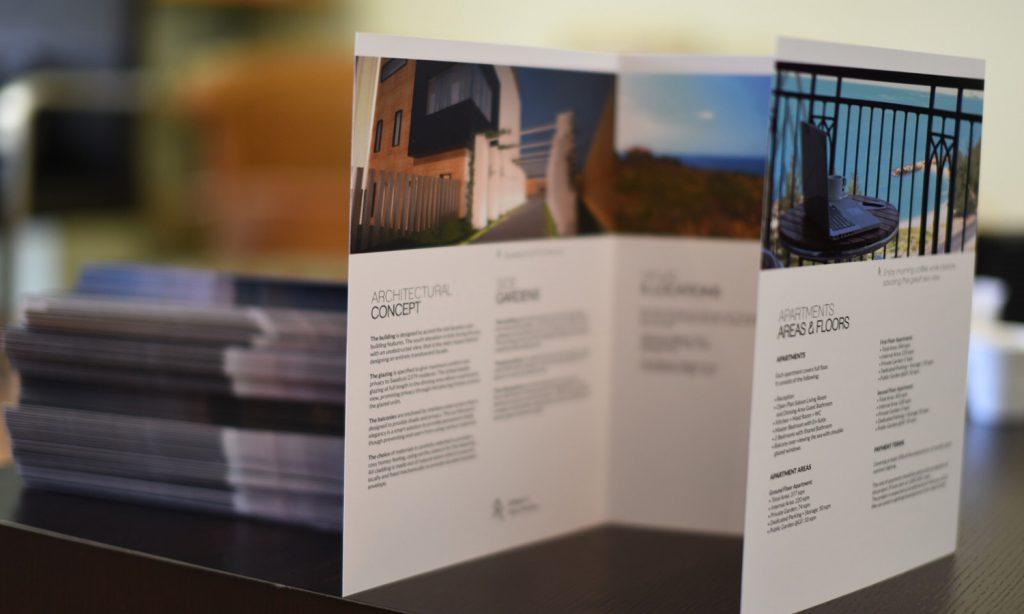 SAADIYAT - brochure design for architect concepts