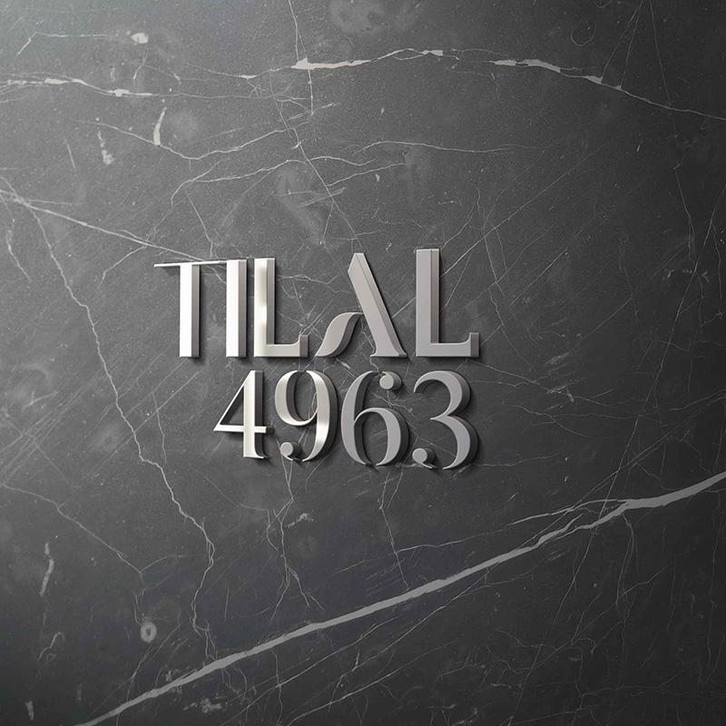 Tilal logo on wall