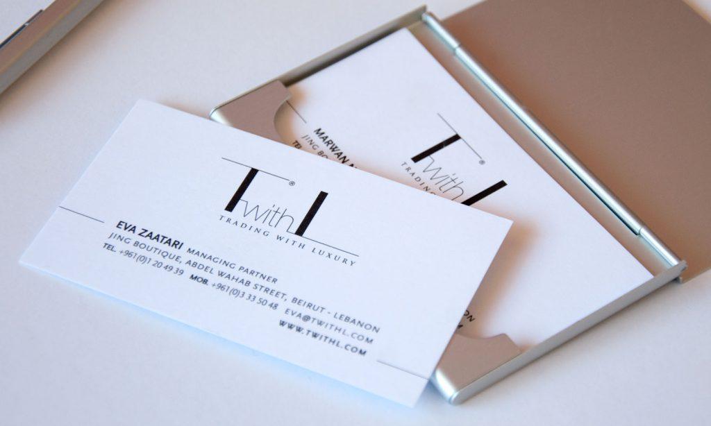 TwithL - business card branding