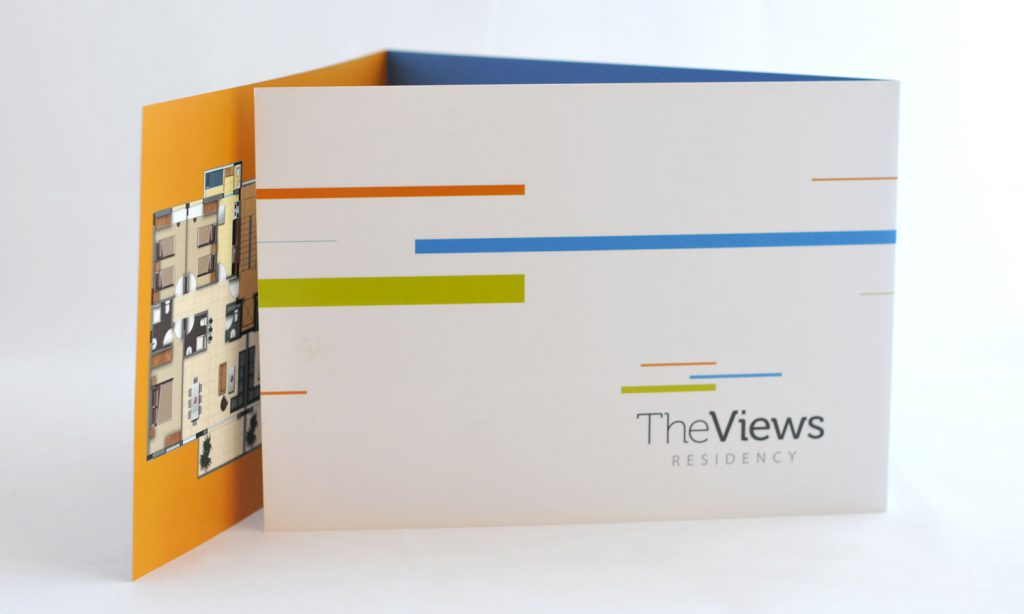 the views residency - design of catalog