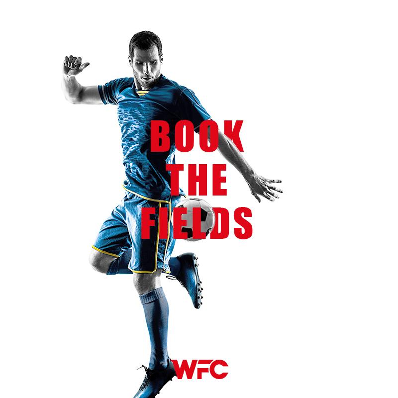 wfc - book the field - social media post