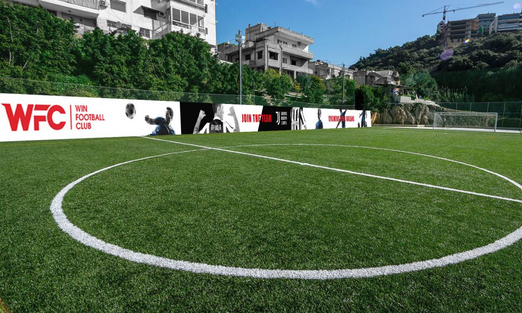 WFC-football field with wall designs