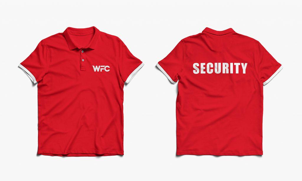 WFC-red tshirt