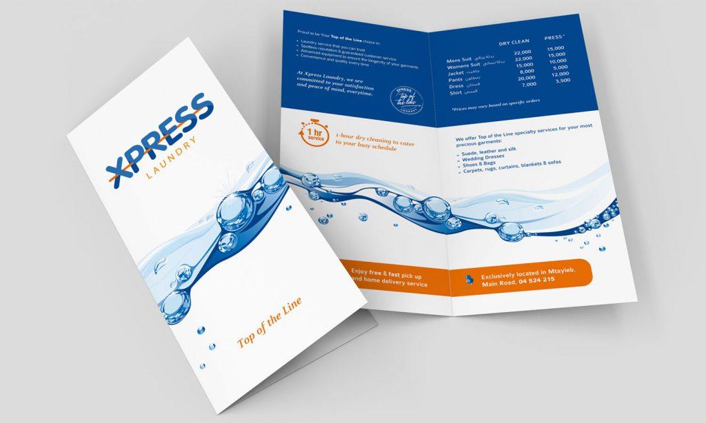 XPRESS - brochure and catalog branding