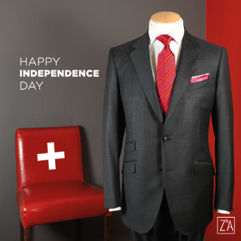 ziad el achi - happy indepence day - tailored suit