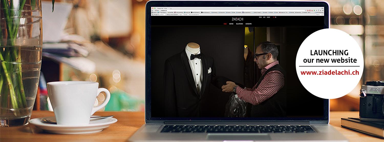 ziad el achi - new website launching