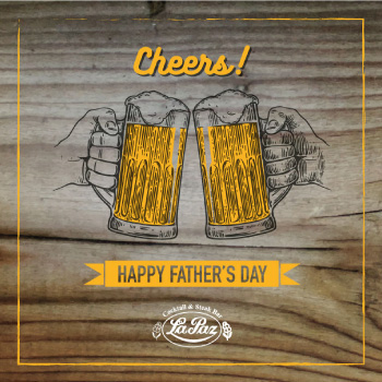 la paz - happy father's day post