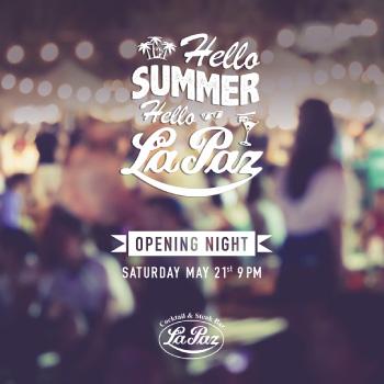 hello summer sm post - la paz cocktails
