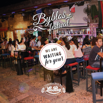 byblos festival - hiring post design