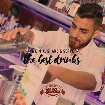 la paz - the best drinks - bartender post design